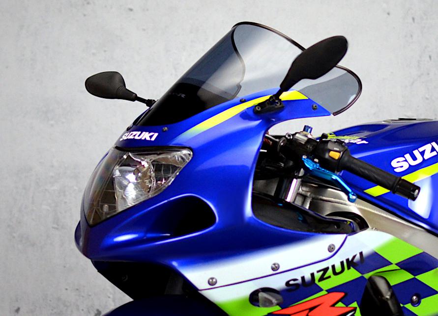 Details about  /Double Bubble Racing Windscreen Screen Black Suzuki GSX-R 600 06-07