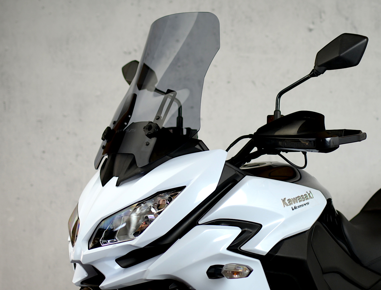 4b40056f01b Details about TOURING SCREEN WINDSHIELD SCHEIBE KAWASAKI KLE 650 VERSYS  2017-2019 4 COLORS