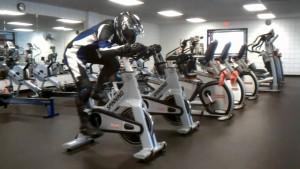 trening motocyklisty siłownia