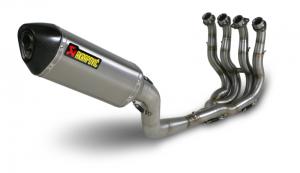 motocyklowy wyścigowy układ wydechowy akrapovic