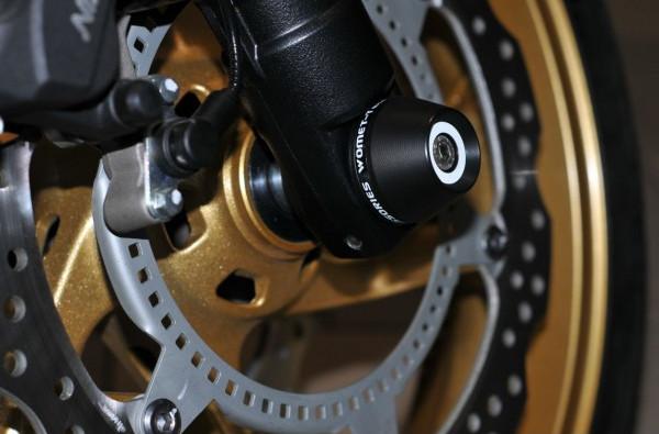 motocyklowe crash pady osi przedniej zawieszenia womet-tech